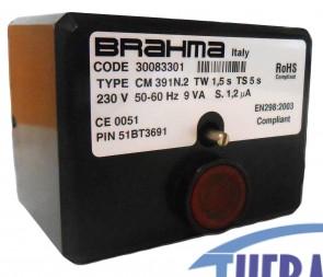 Apparecchiatura di Accensione CM391N.2 - Brahma cod. 30083301