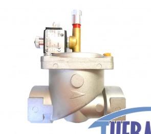 "Elettrovalvola gas - NC - 1"" 1/4"" - Riarmo manuale - EV32"