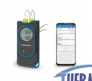 Termometro a doppio ingresso SI-TT3