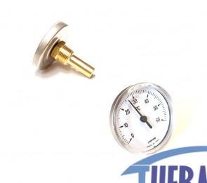 Termometro Bimetallico 0/60° 5 CM