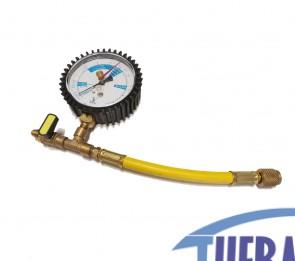 Tubo Flessibile con Manometro x Kit Azoto