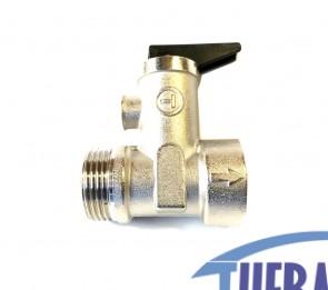 "Valvola Sicurezza Boiler 1/2"" - 8 bar"