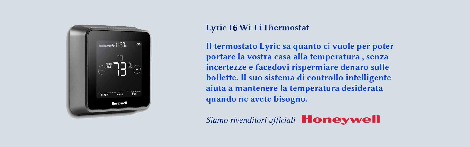 Lyric T5 honeywell Termostato per portare la temperatura stabile ed evitare sprechi